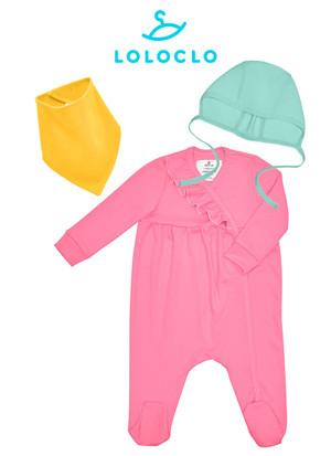 Одежда LOLOCLO для NappyClub Комплект одежды для девочки 4-6 мес