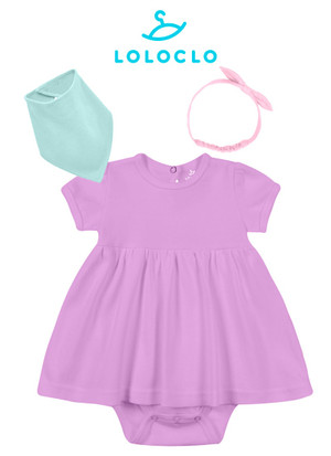 Одежда LOLOCLO для NappyClub Комплект одежды для девочки 6-9 мес
